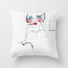 nenita loka Throw Pillow
