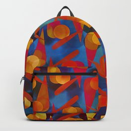 Funky Pattern Backpack