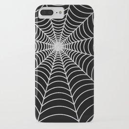 Spiderweb | Silver Glitter iPhone Case