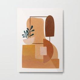 Modern Abstract Art 52 Metal Print