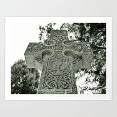 Celtic nation Art Print