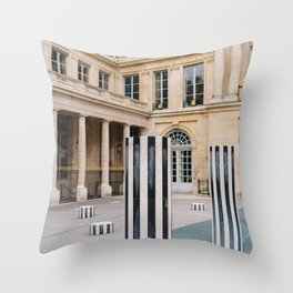 Palais Royal VII Throw Pillow