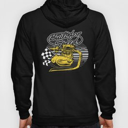 Big Engine and saying Built For Speed Hoody