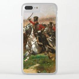Edouard Detaille - Vive Lempereur Clear iPhone Case