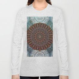 Summer Solstice Mandala Long Sleeve T-shirt