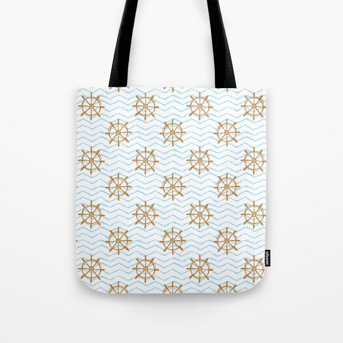 Wheels and waves Tote Bag