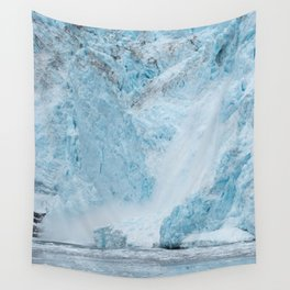 Icy Thunder Wall Tapestry