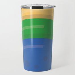 Animated movie poster, minimal fine art print, cartoon, children, minimalist locandina Travel Mug
