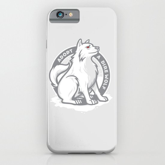 Adopt A Dire Wolf iPhone & iPod Case