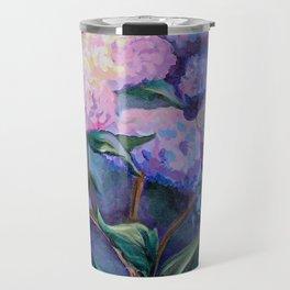 Cape Hydrangeas Travel Mug