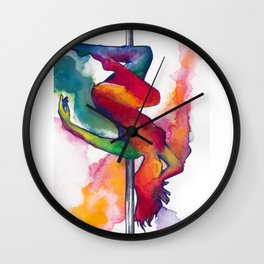 Tiny Dancers Collection: Miss Korea Wall Clock