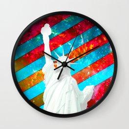 Liberty Pop Art Wall Clock