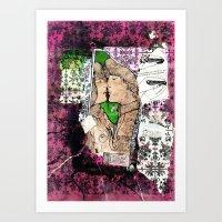 Kisses Art Print