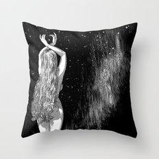 asc 604 - L'invocation à Vénus (Venus under the sky) Throw Pillow