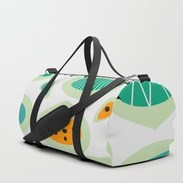 Mid-century abstraction Duffle Bag