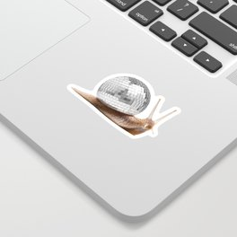 DISCO SNAIL Sticker
