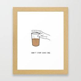 Chai Lover Framed Art Print