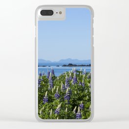 Scenic Alaskan Photography Print Clear iPhone Case