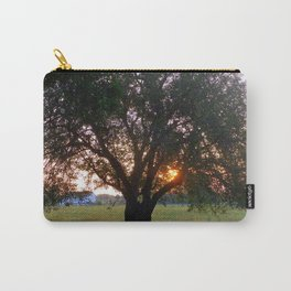 Pasture with Tree Carry-All Pouch