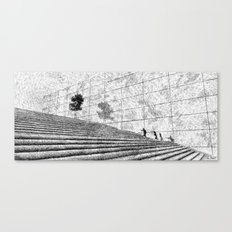 Fingerprint - Stairway Canvas Print