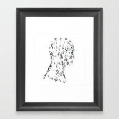 MUSICMAN Framed Art Print