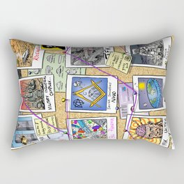 Conspiracy Theorist Rectangular Pillow