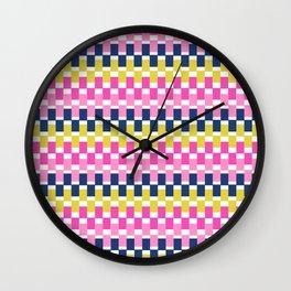 COLOURFUL BLOCKS Wall Clock