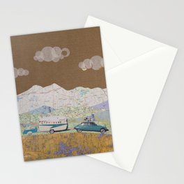 The Year of Living Minimally Stationery Cards