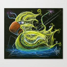 Rubber Duck Eagle Canvas Print
