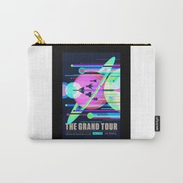 Grand Tour - NASA Space Travel Poster (Alternative) Carry-All Pouch