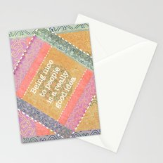 Coral Melody Stationery Cards