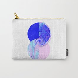 marblized Carry-All Pouch
