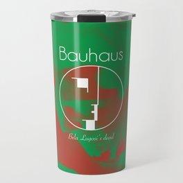 """Bauhaus """"Bela Lugosi's Dead"""" Travel Mug"""