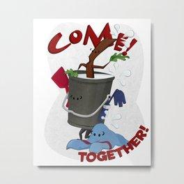 Come! Together! Metal Print