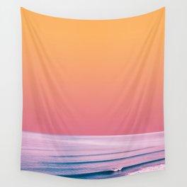 PEACHY SEA Wall Tapestry