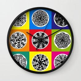 Cactus Art02_A8 Wall Clock