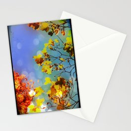 Autumn Bright Day Fine Art Photograph Stationery Cards