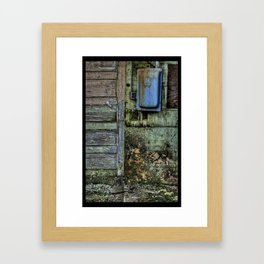Painted Door II Framed Art Print
