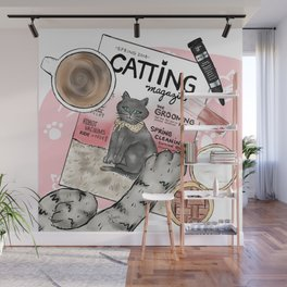 Monday Morning Essentials - featuring Catting Magazine, Spring 2018 Wall Mural