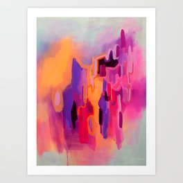 Pungent Euphoria Art Print