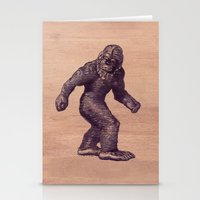 bigfoot Stationery Cards featuring Bigfoot by Cat & Mouse