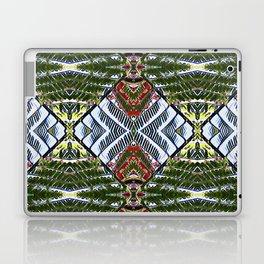 Royal Poinciana Fronds Diamond OP Pattern Laptop & iPad Skin