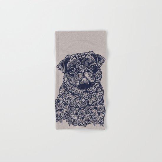 MANDALA OF PUG Hand & Bath Towel
