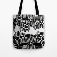 tchmo Tote Bags featuring Untitled 20150425l by tchmo