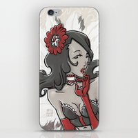 """burlesque iPhone & iPod Skins featuring BURLESQUE by """"dfrnt"""""""