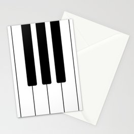 Piano Keys - Music Stationery Cards
