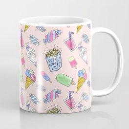 Cute pink candy and ice-cream Coffee Mug