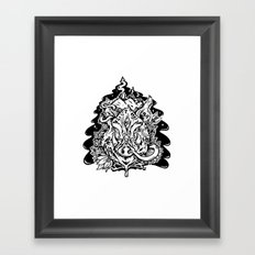 This is our Island Framed Art Print