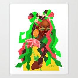 Mother of Serpents Art Print