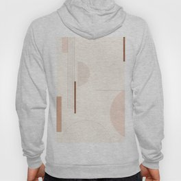 Minimal Geometric Shapes 124 Hoody